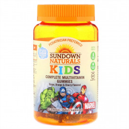 Sundown Kids Жевательный мультивитаминный комплекс 180 таб