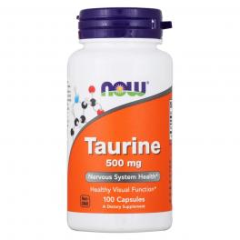 NOW Taurine 500 мг 100 капс