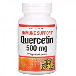 Natural Factors Кверцитин 500 мг 60 капс